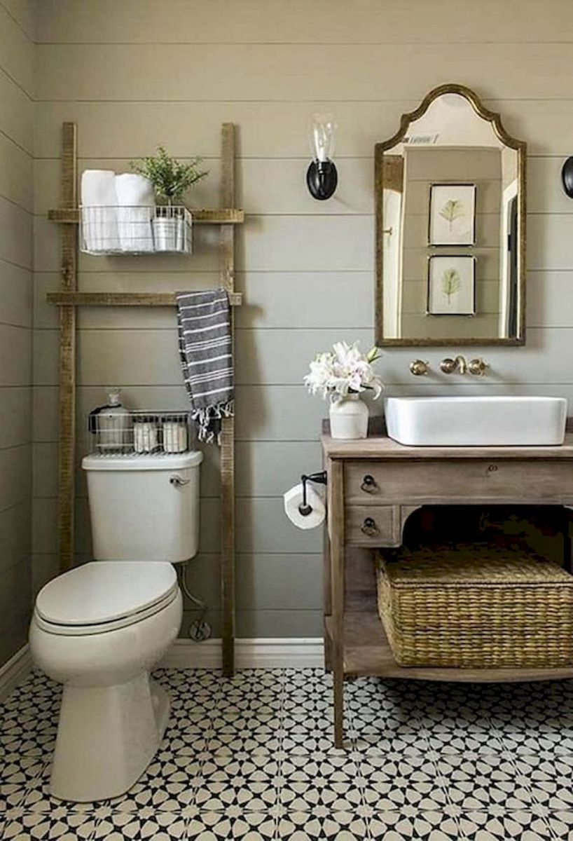50 Fantastic DIY Modern Farmhouse Bathroom Remodel Ideas (5)