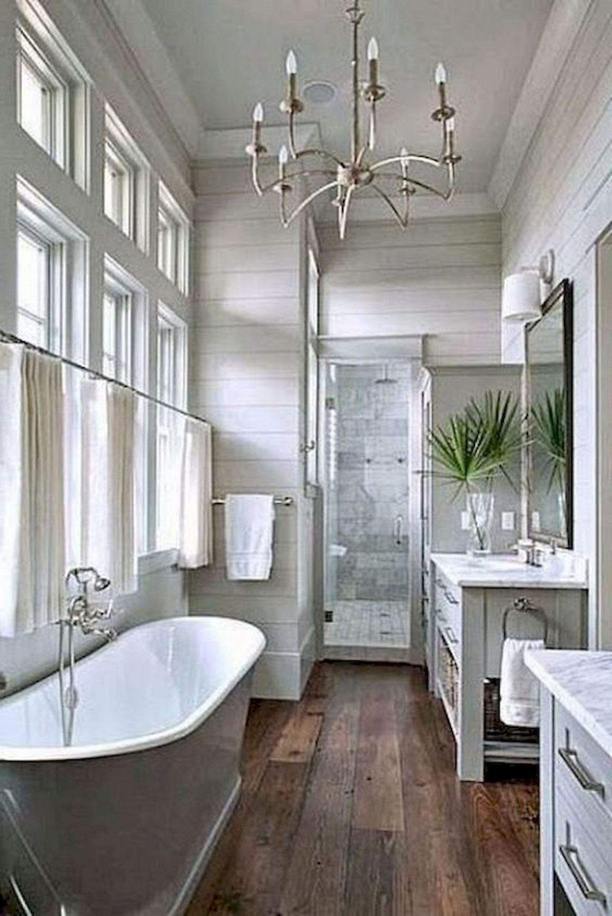 50 Fantastic DIY Modern Farmhouse Bathroom Remodel Ideas (6)
