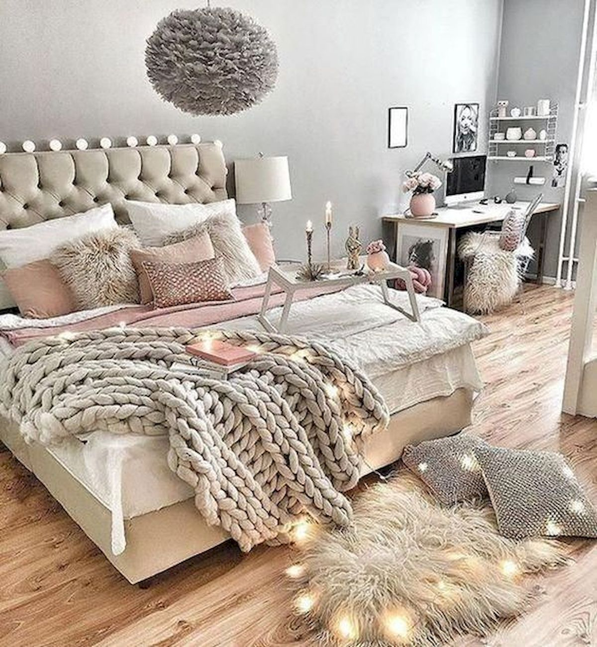 36 Creative DIY Wall Bedroom Decor Ideas That Unique And Beautiful (4)