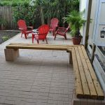 40 Awesome DIY Outdoor Bench Ideas For Backyard And Front Yard Garden (21)