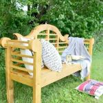 40 Awesome DIY Outdoor Bench Ideas For Backyard And Front Yard Garden (7)
