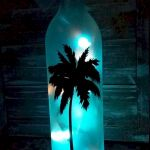 40 Fantastic DIY Wine Bottle Crafts Ideas With Lights (19)