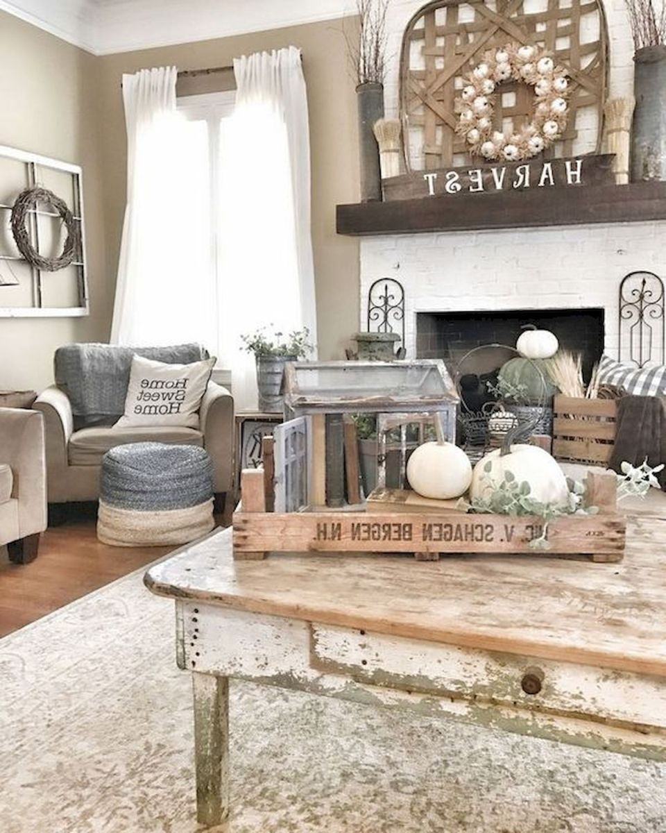 40 Gorgeous DIY Fall Decoration Ideas For Living Room (12)