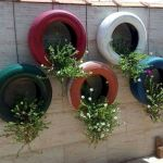 25 Creative DIY Garden Decoration Ideas Using Old Tires (15)