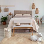 20 Awesome Boho Farmhouse Bedroom Decor Ideas and Remodel (18)