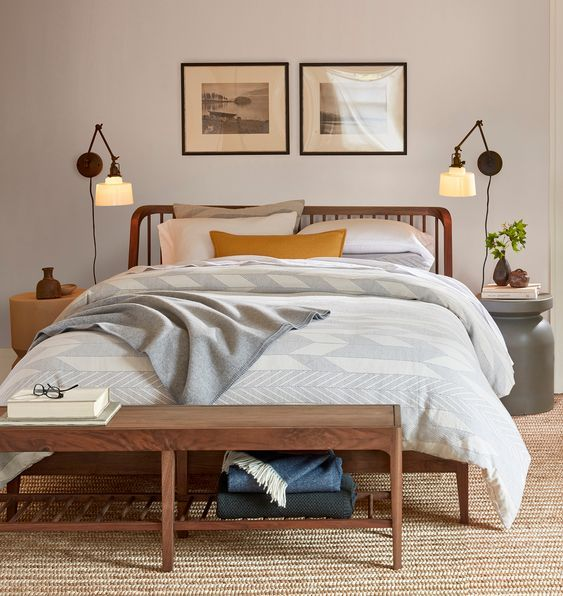 20 Awesome Small Farmhouse Bedroom Decor Ideas And Remodel (3)
