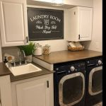 20 Beautiful Farmhouse Laundry Room Decor Ideas and Remodel (13)