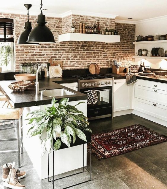 20 Beautiful Modern Farmhouse Kitchens Decor Ideas and Remodel (3)