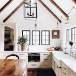20 Beautiful Modern Farmhouse Kitchens Decor Ideas And Remodel (6)