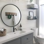 20 Best Farmhouse Bathroom Lighting Decor Ideas And Remodel (2)