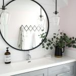 20 Best Farmhouse Bathroom Lighting Decor Ideas And Remodel (4)
