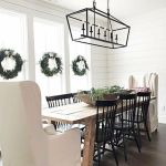 20 Best Farmhouse Dining Room Lighting Decor Ideas and Remodel (5)