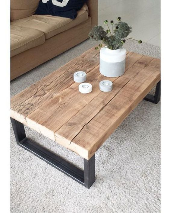 20 Stunning Farmhouse Coffee Table Decor Ideas And Remodel (2)