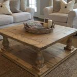 20 Stunning Farmhouse Coffee Table Decor Ideas and Remodel (4)