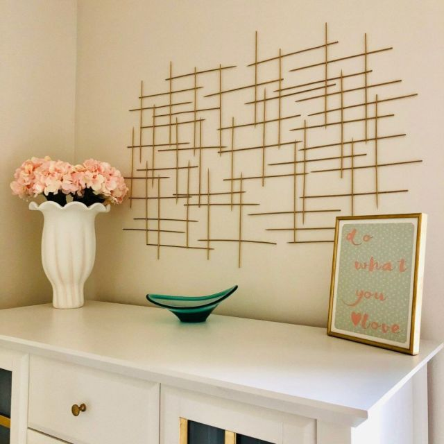 Nice diy modern wall decor
