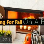Gorgeous Fall Decorating On A Budget