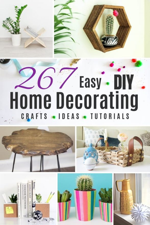 Top diy home decor ideas