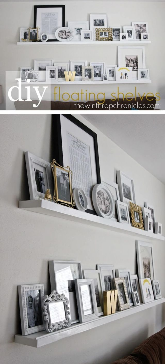 Wonderful diy wall decor for living room