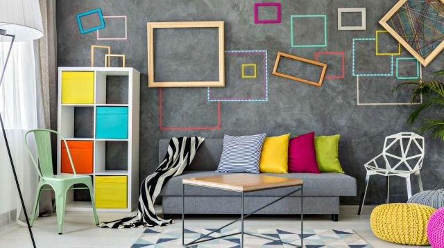 Cool diy wall decor for living room