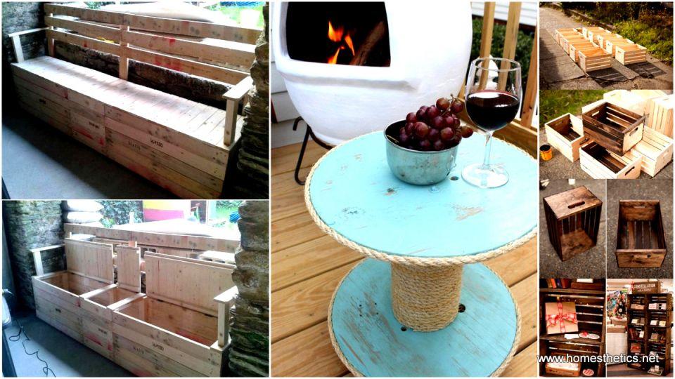 Nice Unique Homemade Furniture Ideas