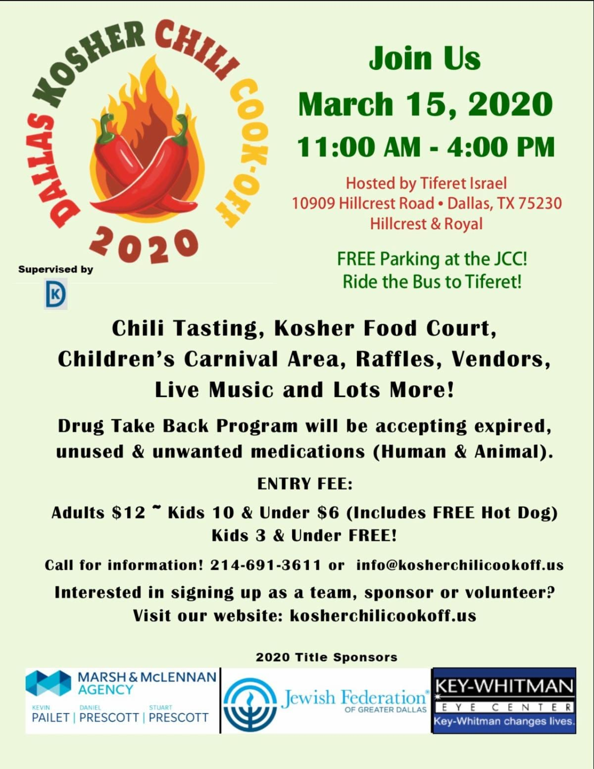 Dallas Kosher Chili Cook-Off 1