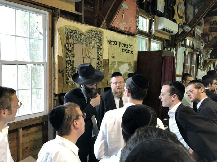 "Yeshiva Torasi Umnasi - A Yeshiva for Bochurim Who Couldn't Return to E""Y 4"