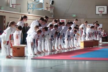 Karate Kinder und Jugendliche Turnier Detmold 2015
