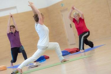 Yoga mit Svenja Paulsen, Foto: David Bärwald
