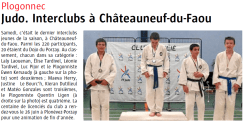 2 juin 2015 Interclub Chateauneuf
