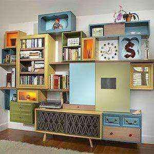 mebel-iz-kartona-008 | Нет денег на новую мебель? Не беда! Её можно сделать из…