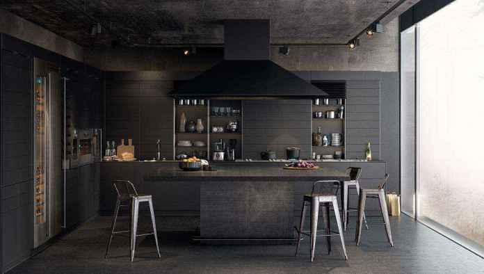image1-34 | Черные кухни — новый взгляд на привычные вещи