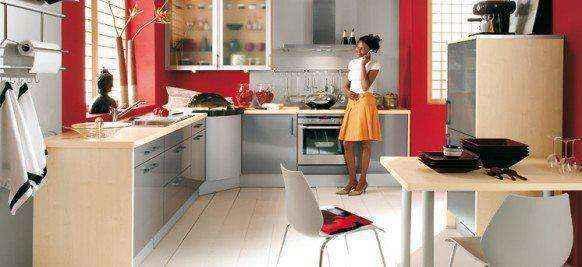 image1-44 | Красные кухни в интерьере