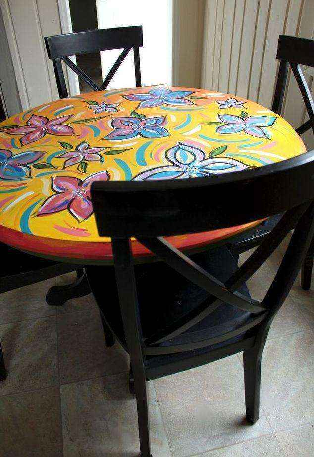 image10-1 | Как потратив минимальную сумму преобразить кухонный стол до неузнаваемости?