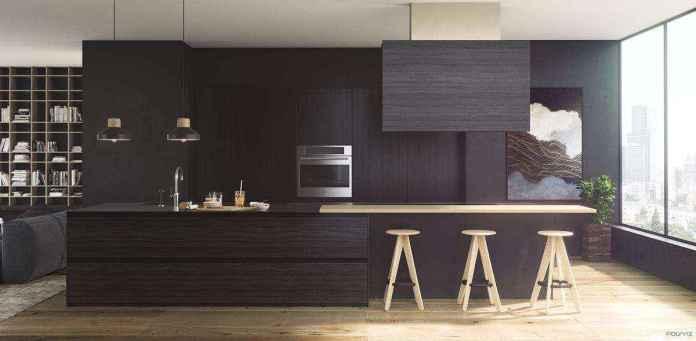 image12-17 | Черные кухни — новый взгляд на привычные вещи