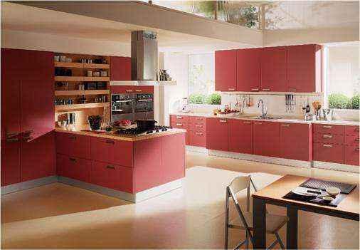 image14-21 | Красные кухни в интерьере