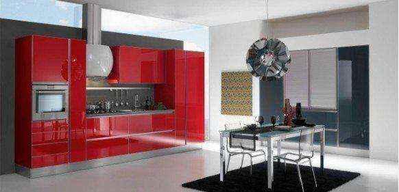 image19-13 | Красные кухни в интерьере