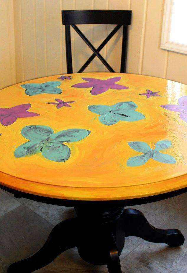 image5-1 | Как потратив минимальную сумму преобразить кухонный стол до неузнаваемости?