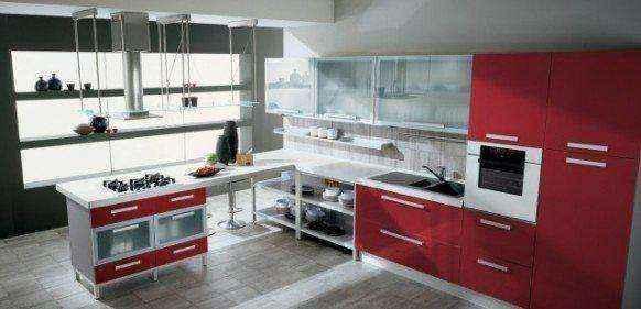 image8-39 | Красные кухни в интерьере