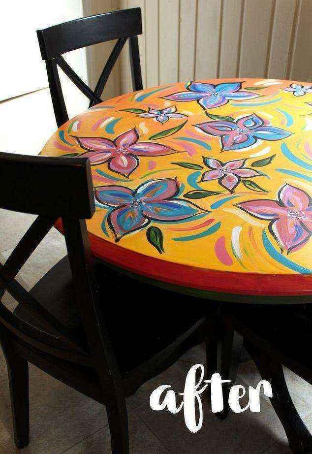 image9-1 | Как потратив минимальную сумму преобразить кухонный стол до неузнаваемости?