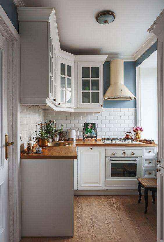 image17-4   Потрясающие идеи для маленькой уютной кухни