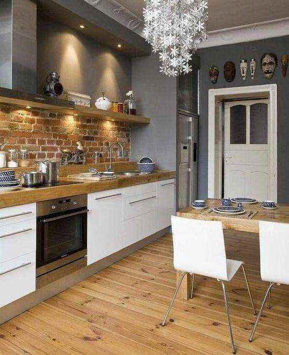 image31-2   Потрясающие идеи для маленькой уютной кухни