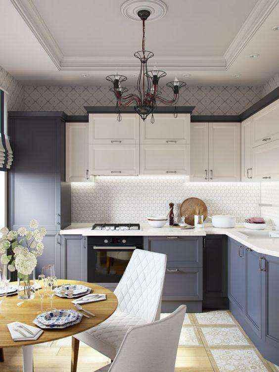 image4-6   Потрясающие идеи для маленькой уютной кухни
