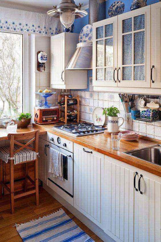 image8-6   Потрясающие идеи для маленькой уютной кухни