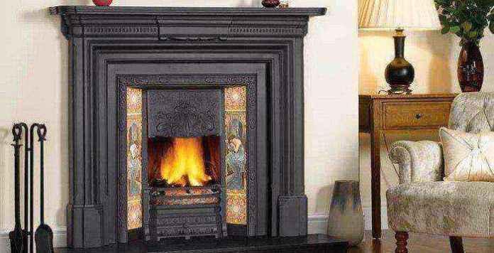 1-1-wood-burning-fireplace-in-living-room-interior | Дровяные камины: обзор материалов и лучших идей (Часть вторая)