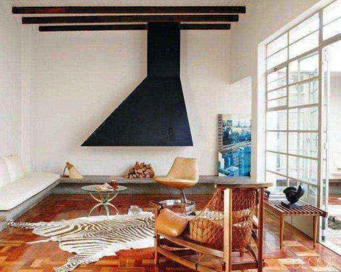 1-4-wood-burning-fireplace-in-living-room-interior | Дровяные камины: обзор материалов и лучших идей (Часть вторая)