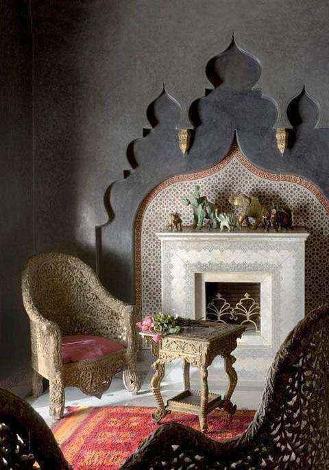 3-5-wood-burning-fireplace-in-living-room-interior | Дровяные камины: обзор материалов и лучших идей (Часть вторая)