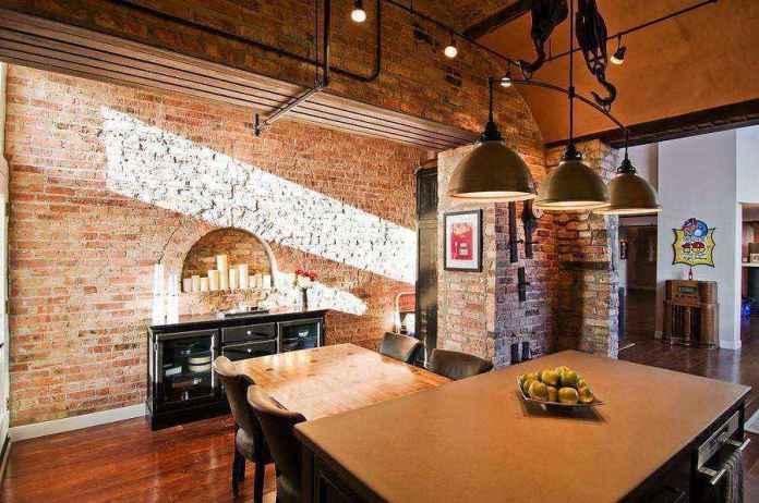 4-2-masonry-wall-recess-arch-shaped-with-candles-faux-fireplace-ideas | Идеи фальш-каминов: создание, декорирование и начинка