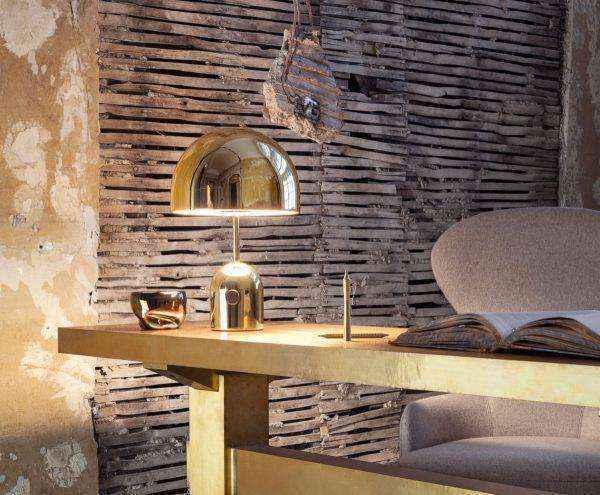designer-golden-table-lamp-600x495 | Необычное рядом: дизайнерские настольные лампы