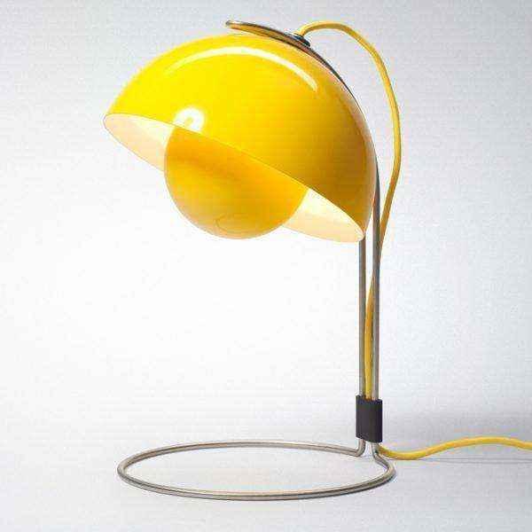 flower-designer-metal-table-lamps-600x600 | Необычное рядом: дизайнерские настольные лампы