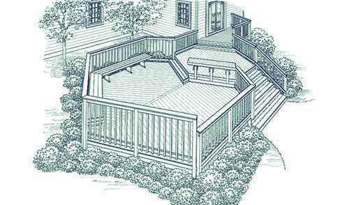 image39 | Лучшие проекты террасы для загородного дома
